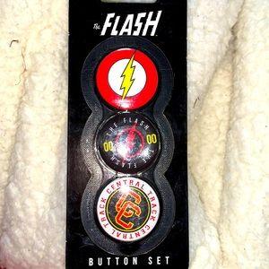 Flash buttons set